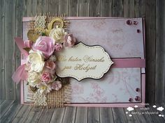 INKognito ~ Cards by Natalie: DT: shabby chic wedding card (for 613AC)