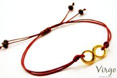Handmade Metal Infinity Bracelet with by VirgoHandmadeJewelry Virgo Jewelry, Crystal Beads, Crystals, Virginia, Infinity, Facebook, Chic, Simple, Box