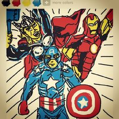 Captain America / Thor / Iron Man / Avengers / Superhero / Marvel / Movie / Cartoon / Comics / 마블 / 어벤져스 /영웅 / 캡틴아메리카 / 토르 / 아이언맨