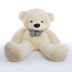 Cozy Cuddles cream teddy bear 65in