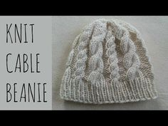 How to Crochet A Hat: Cable Twist Hat - YouTube