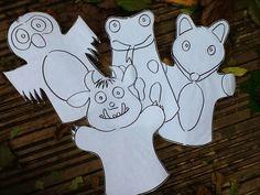 A little bit of sewing, creating, teaching, learning and a big bit of fun! Gruffalo Activities, Gruffalo Party, The Gruffalo, Book Activities, Gruffalo Eyfs, Finger Puppet Patterns, Finger Puppets, Felt Puppets, Story Sack