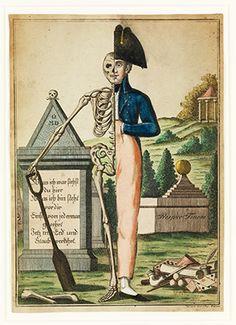 exposição Death: A Self Portrait na Wellcome Collection, reunindo 300 peças pertencentes ao ex-marchand Richard Harris.