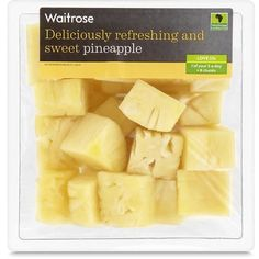 Large Pineapple Waitrose ($3.55) ❤ liked on Polyvore featuring food, fillers, food and drink, food & drink and yellow