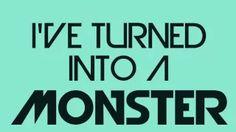Imagine Dragons - Monster (Lyrics on Screen) - YouTube