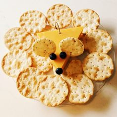 Our Mouse Cheese Plate that we made!