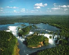 PARAGUAY: The stunning Iguazu Falls. Bordering Brazil, Bolivia and Argentina, Paraguay is located in South America and it is a landlocked territory. World Most Beautiful Place, World's Most Beautiful, Wonderful Places, Beautiful Sites, Amazing Things, Amazing Places, Iguazu National Park, National Parks, Thomas Jefferson