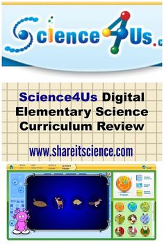 Share it! Science News : Science4Us Elementary Science Curriculum Review