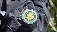 Actual STRIKE Team patch from Captain America: TWS.