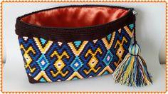 Wayuu clutch çalışmam.
