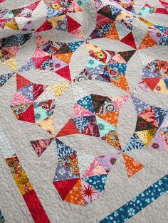 Innocent Crush - kaleidoscope quilt