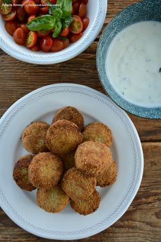 Falafel Tzatziki, Falafel, Bon Appetit, I Foods, Hummus, Oreo, Ethnic Recipes, Blog, Mint