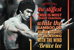 Bruce Less Martial Arts kung fu wing chun quote Follow instagram @bjj_philosophy