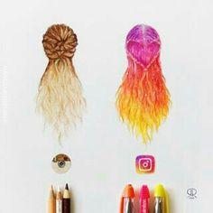 Instagram-hair