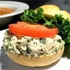 Parmesan and Basil Chicken Salad  Wonderful on croissants or Italian bread.