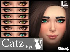 -with custom thumbnail  Found in TSR Category 'Sims 4 Eye Colors'