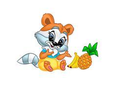 Крошка енот персонаж Союз Мультфильм, small raccoon illustration,  petit raton laveur illustration, εικονογράφηση μικρό ρακούν Эфен Гай