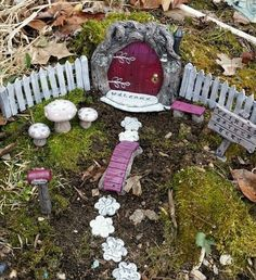 Fairy Door Garden kit 140 Hobbit's Elve's And Gnome's on Etsy, $70.00