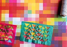 Geometric Cinco de Mayo Fiesta Garland DIY.