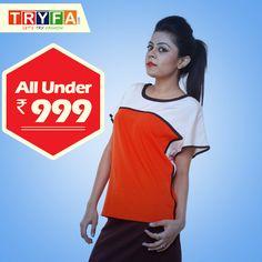 Latest top, bottom, jumpsuit & more collection online. #fashiondiaries #delhifashion #delhidiaries #delhi #newfashiontrends #new #designer #tops #newtrends #fashionweek #fashionworld #fashionwoman  http://www.tryfa.com