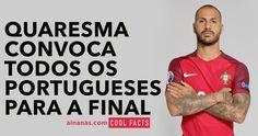 Ricardo Quaresma usou a internet para fazer um pedido a todos os portugueses. Lá fora NINGUÉM acredita que possamos ganhar.