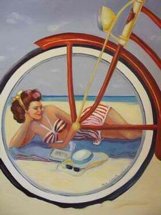 Beach bike.  (Kewl)