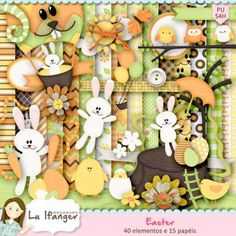 Kit Digital Easter by Lu Ifanger