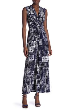 Dot Print Twist Front Maxi Dress by Eliza J on J Dot, Fishing Outfits, Top Designer Brands, Nordstrom Dresses, Wrap Dress, My Style, Stylish, Nordstrom Rack, Clothes
