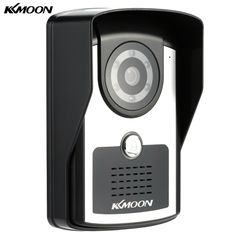 71.99$  Watch now  - KKmoon HD 720P Megapixels Wireless WiFi Door Phone Visual Intercom Doorbell + 4G SD Card support P2P Android/iOS APP Snapshot Unlock Infrared Night View Rainproof Motion Detection Email Alarm Adjustable View Angle for Home Surveillance