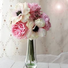 Hey, I found this really awesome Etsy listing at https://www.etsy.com/listing/198365149/jennysflower-shop-10-blooming-peony-and
