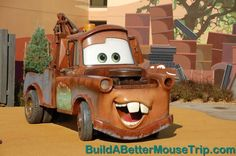 Mater statue at Disney's Art of Animation Resort. Disney Value Resorts, Disney World Resorts, Disney Pins, Walt Disney, Disney Cars Movie, Disney Art Of Animation, Tow Mater, Best Mouse, Disney World Planning