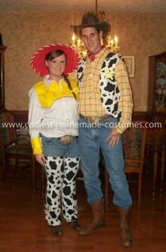 Woody Jessie and Bullseye costumes. Toy Story costumes | Halloween costumes | Pinterest | Costumes Halloween costumes and Halloween ideas  sc 1 st  Pinterest & Woody Jessie and Bullseye costumes. Toy Story costumes | Halloween ...