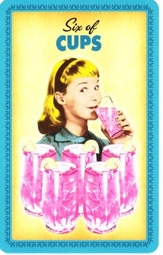 Six of Cups (Housewives Tarot)