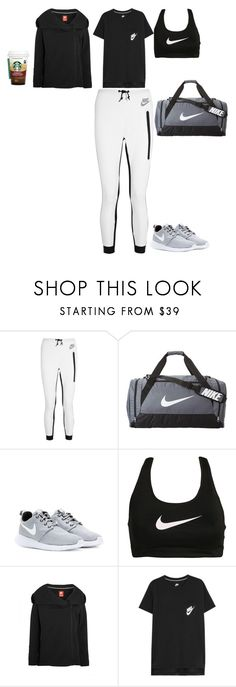 """""""Parkour training in the morning"""" by stylev ❤ liked on Polyvore featuring NIKE"""