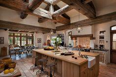 Vidéki birtok rusztikus francia stílusban - a természetes anyagok szépsége | Higgins Architects