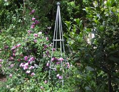 Rings around look more modern10 Easy Pieces: Garden Tuteurs