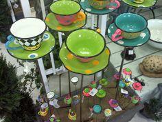 Alice in Wonderland Teacup Planters!