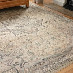 Shop Alexander Home Venetian Printed Star Persian Distressed Rug - Overstock - 30684396 - x - Multi/Ivory Inexpensive Rugs, Happy Birthday Video, Polyester Rugs, Oriental Pattern, Home Rugs, Eclectic Decor, Grey Rugs, Online Home Decor Stores, Rugs In Living Room