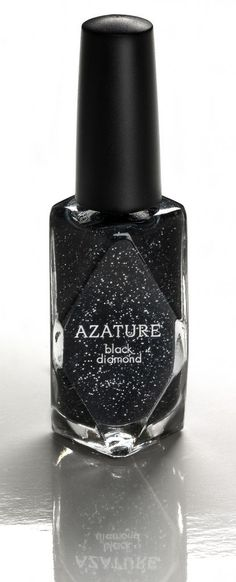 267 cts. of black diamonds = most expensive nail polish ever at $250,000 ... click through for details about the more price friendly version :)