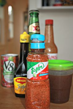 This Basic Michelada Recipe is a Mexican beer cocktail made with cold cervezas, juice, lime, and assorted spices served in a chili and salt- rimmed glass! Beer Recipes, Alcohol Recipes, Mexican Food Recipes, Cooking Recipes, Drink Recipes, Cooking Tips, Summer Drinks, Fun Drinks, Mixed Drinks