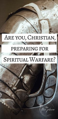 We cannot face our foe unless we are prepared with each and every tool God has placed in our arsenal. He has equipped us with all we need to resist the Devil and to do the good deeds He has prepared for us. The question we need to ask ourselves today is, are we doing our part to prepare for this spiritual warfare?