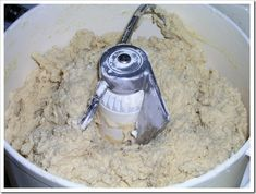 sugar cookie dough made using BOSCH mixer