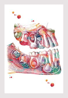 Artistic Dental Art Wallpaper