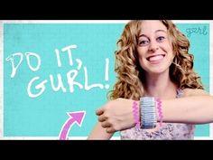 Do It, Gurl - Make A Safety Pin Bracelet