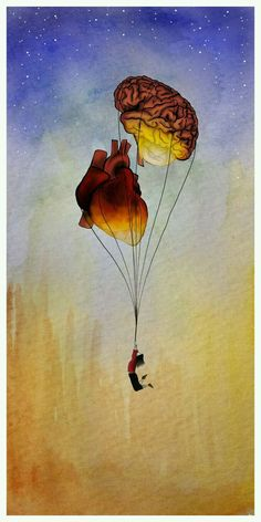 Illustration - illustration - www. illustration : – Picture : – Description www.creativeboysc… -Read More – Brain Art, Brain Drawing, Psy Art, Anatomy Art, Heart Anatomy, Brain Anatomy, Anatomy Drawing, Art Plastique, Art Inspo