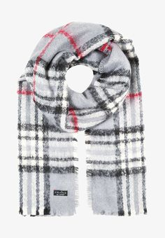Fraas Schal - grey - Zalando.at School Outfits, Plaid Scarf, Clothes, Fashion, Outfits, Moda, Clothing, La Mode, School Clothing