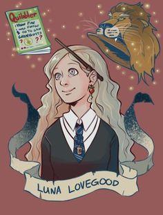Luna Lovegood by brenna-ivy