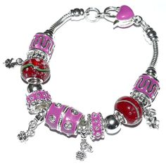"Glücks-Armband ""magic"" - hippie-spirit Pandora Charms, Charmed, Purple, Bracelets, Jewelry, Bracelet, Jewlery, Bijoux, Schmuck"