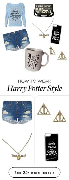 """Harry Potter"" by camo-cowgirl3 on Polyvore featuring CellPowerCases and rag & bone"