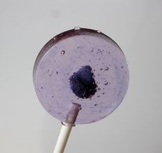lollipops made with pure Violet flower extract imported from France.